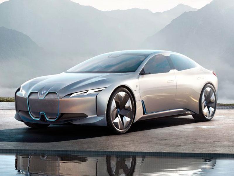 BMW i4 2019 debuta
