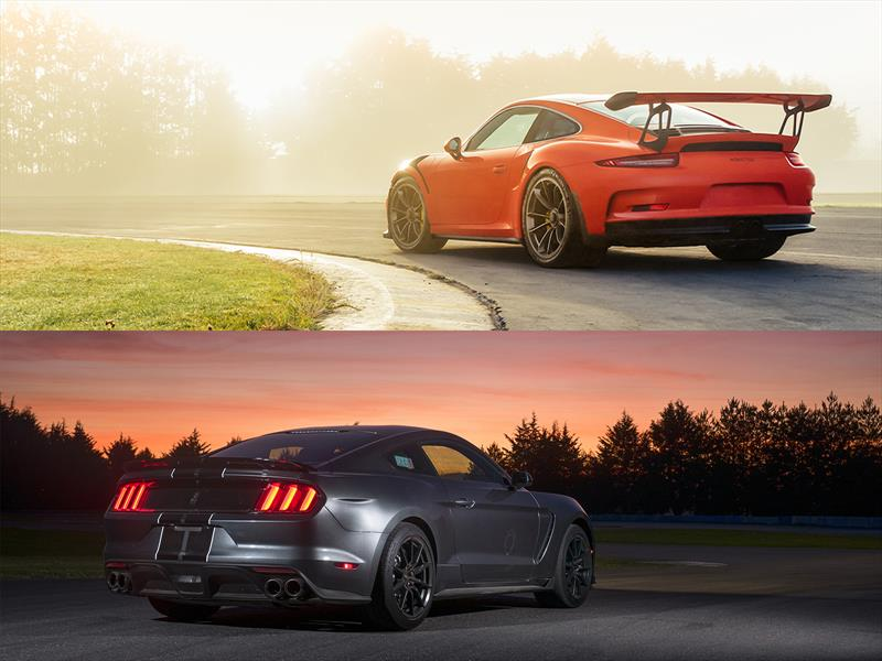 Comparativa: Shelby GT350 vs Porsche GT3 RS