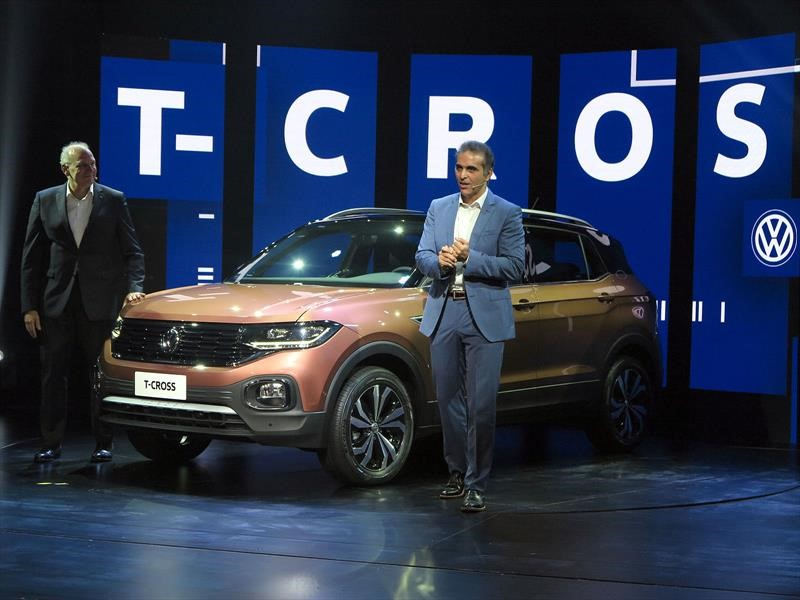 Volkswagen T-Cross se presenta a todo el mundo