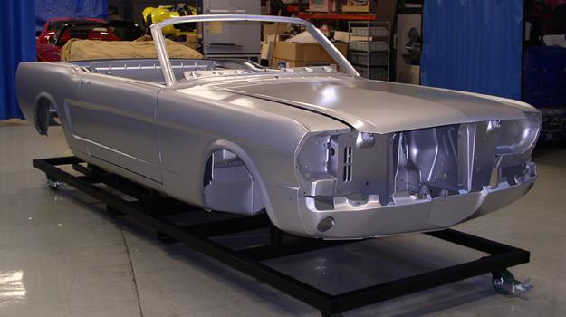 Ahora podés comprar una carrocería de Mustang 65 con Licencia Ford