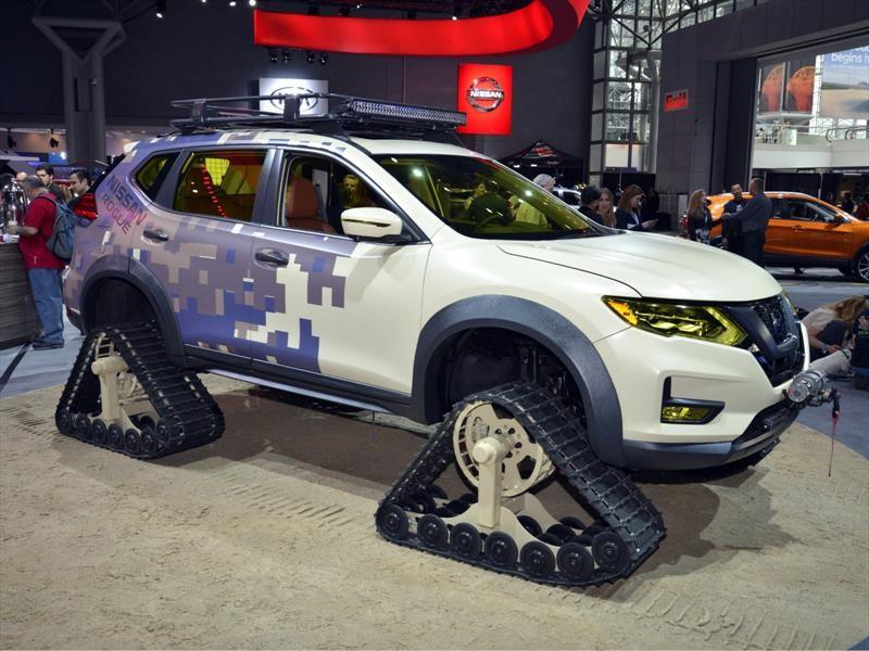 Carros De Venta En New York >> Auto Show de Nueva York 2017 - Nissan Rogue Trail Warrior Project, oruga al estilo japonés ...