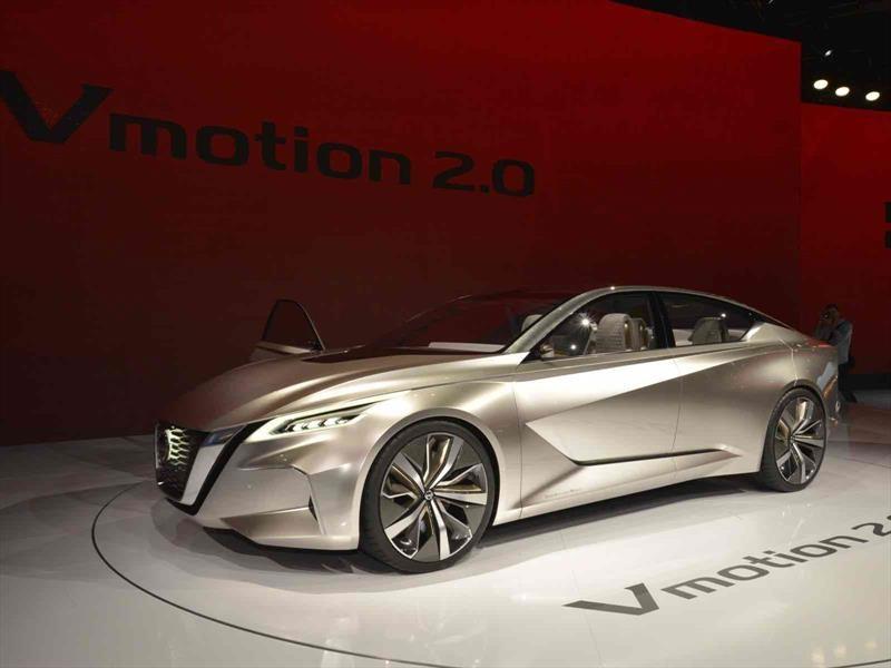 Nissan V-Motion 2.0 Concept es el mejor concepto del Auto Show de Detroit 2017