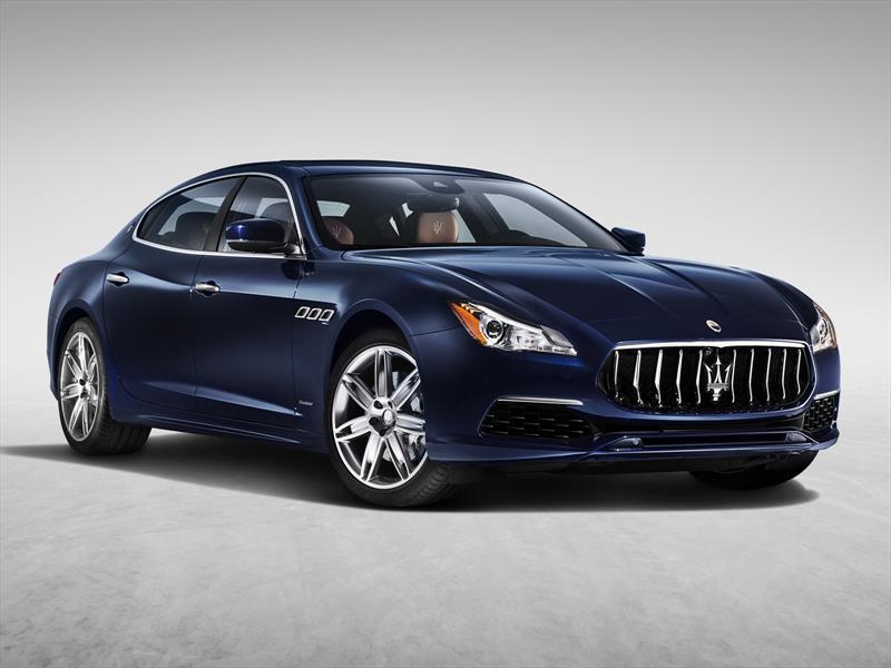 Maserati Quattroporte 2017 se actualiza