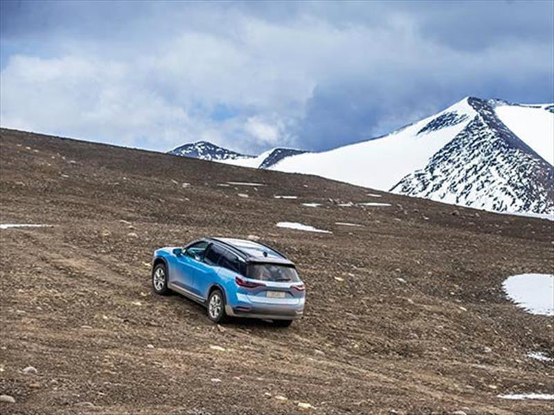NIO ES8 marca récord por la mayor altitud lograda en un vehículo eléctrico