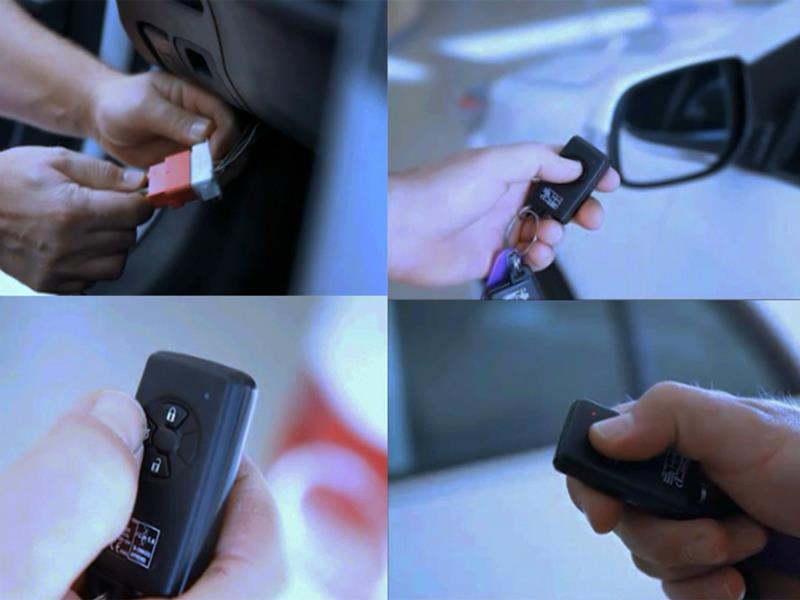 BETTER muestra sus avanzadas alarmas para carros