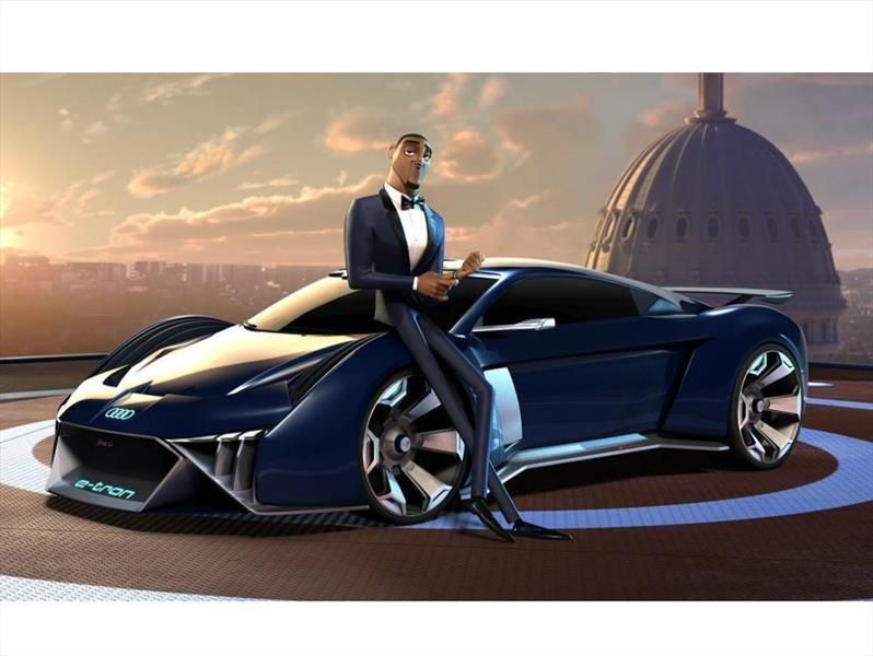 Audi RSQ e-tron es un auto animado que desearías fuera real