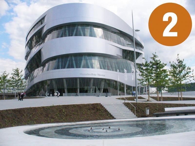 Una visita al Museo Mercedes-Benz, parte 2