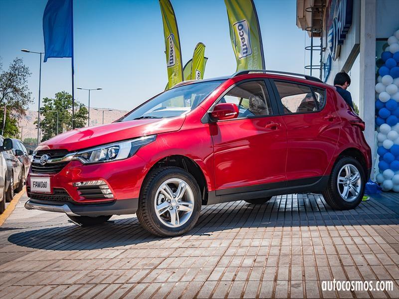 FAW D60 debuta en Chile, un pequeño crossover urbano
