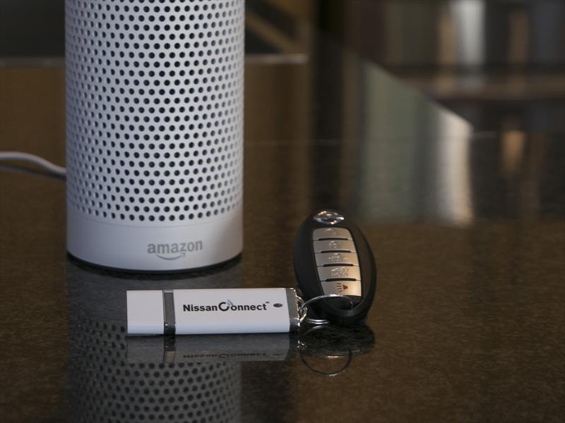Nissan Rogue incorpora Amazon Alexa