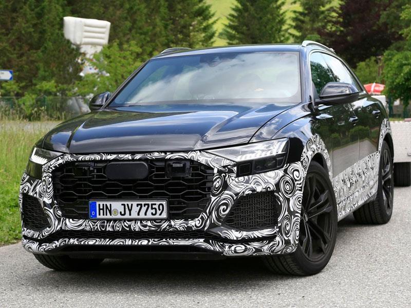 Primerás imágenes del Audi RS Q8 2019