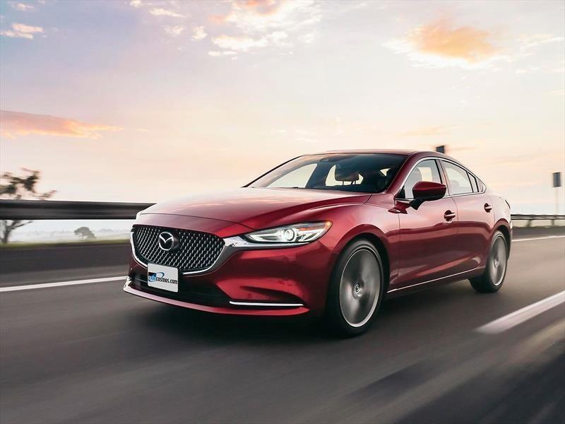 Mazda 6 2019 incorpora Apple CarPlay y Android Auto
