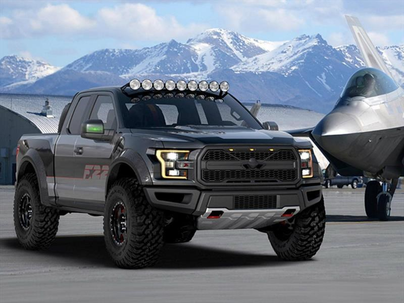 ford f 22 raptor f 150 una pick up caza de combate. Black Bedroom Furniture Sets. Home Design Ideas