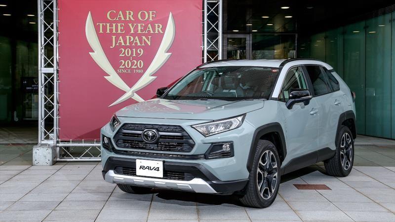 Toyota RAV4 es reconocido como el Car of the Year 2019-2020 en Japón