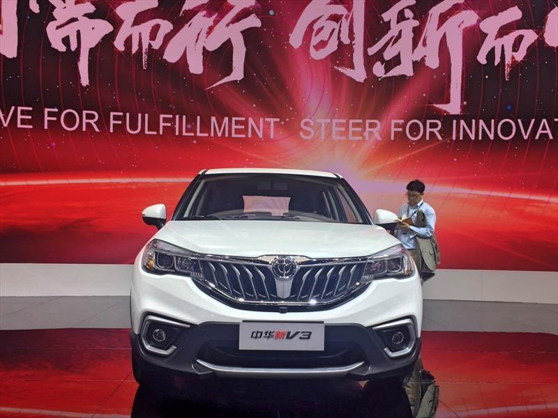 Brilliance Zhonghua V3 2018 debuta