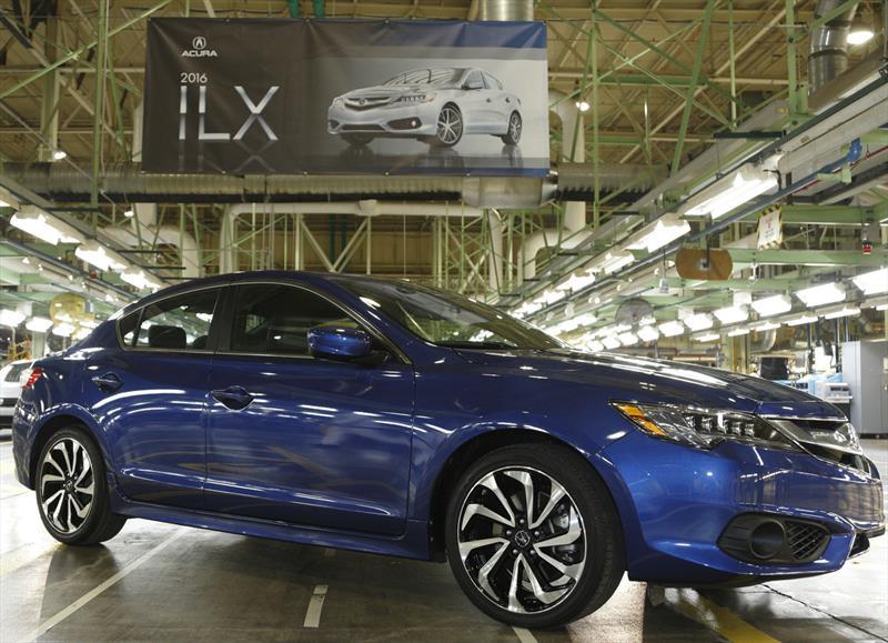Acura ILX 2016 inicia producción en Estados Unidos