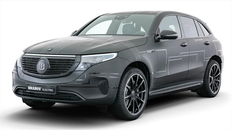 Brabus E-PowerXtra: el EQC, el primer vehículo eléctrico de Mercedes-Benz, recibe tuning