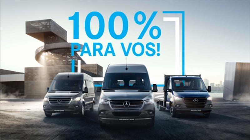 Nueva Mercedes Benz Sprinter 2020 se lanza en Argentina