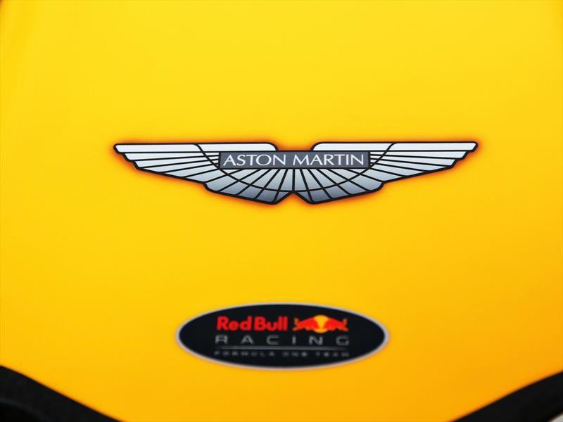 Aston Martin es el principal patrocinador de Red Bull en 2018