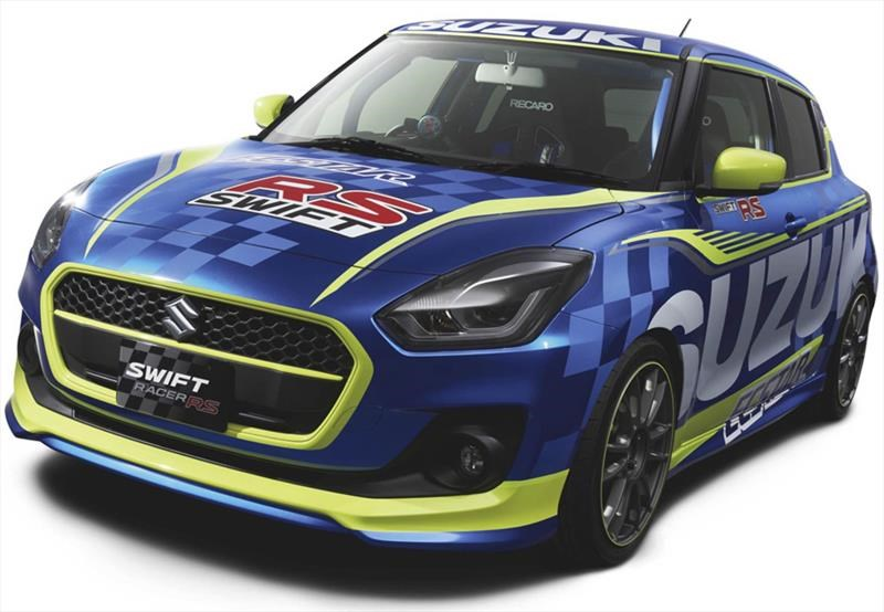 """Suzuki se pone """"racing"""" para el Tokio Auto Salón"""