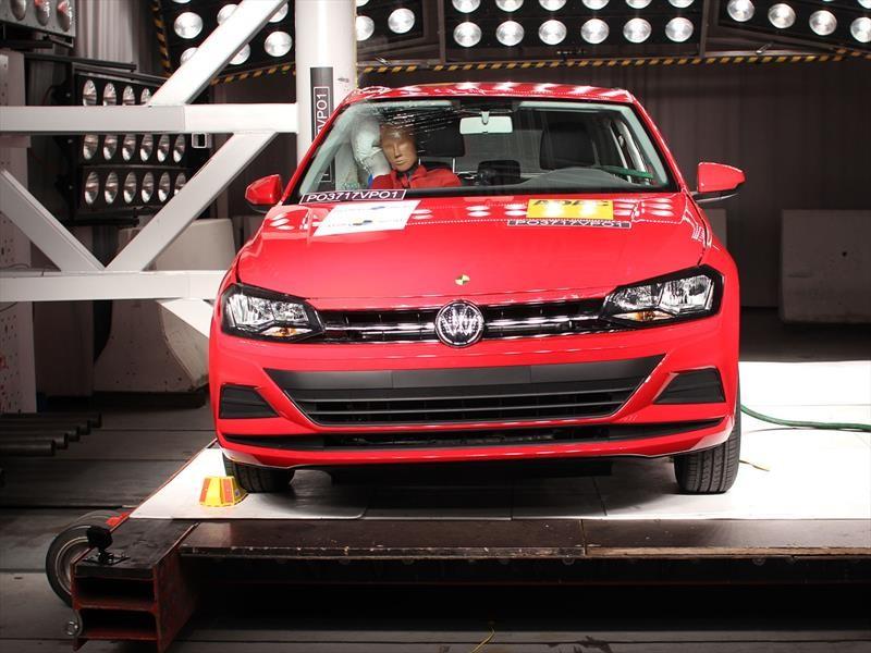 Volkswagen Virtus consigue 5 estrellas en Latin NCAP