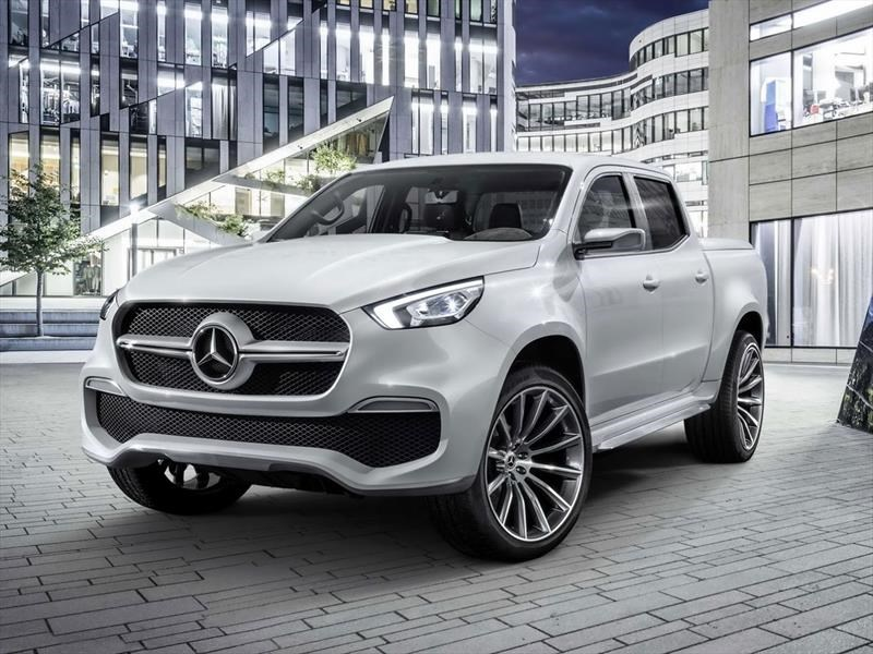Mercedes Benz devela su esperada camioneta, la Clase X ...