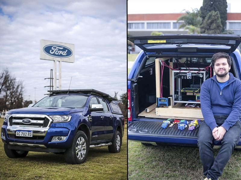 Ford dá una mano en el #Argentinatón