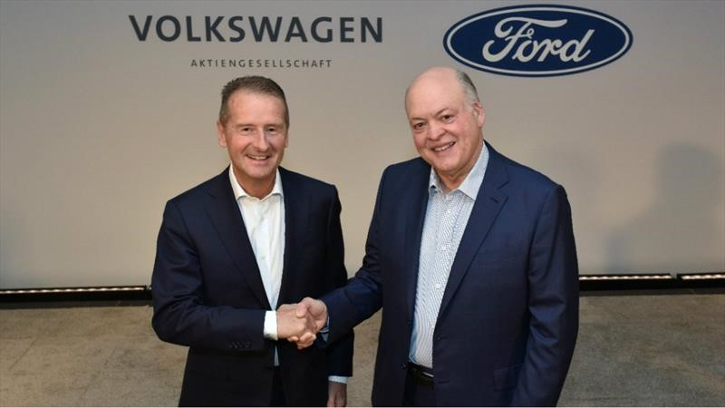 Volkswagen y Ford confirman asociación para producir de autos eléctricos y pickups