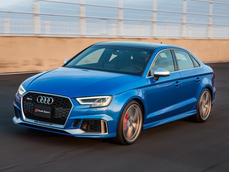 Audi RS 3 Sedán 2018 debuta
