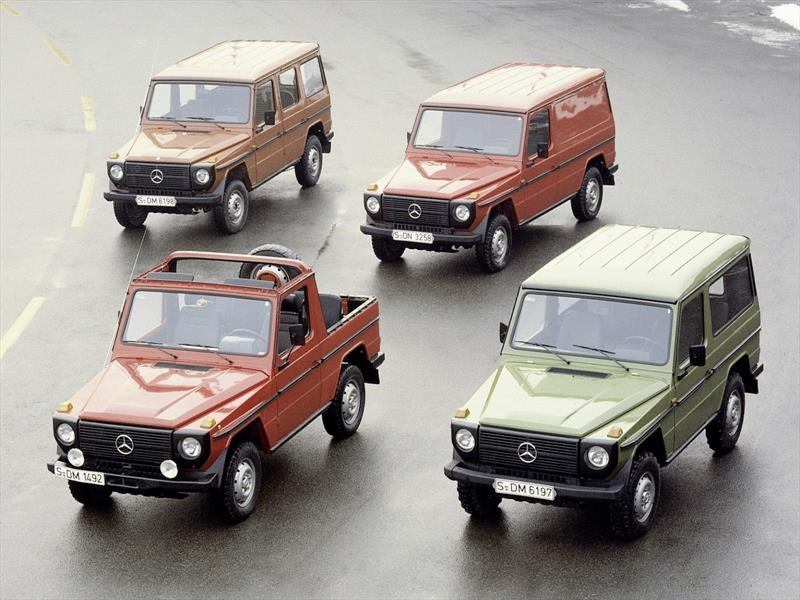 Mercedes-Benz Clase G, historia de un grande que está de regreso