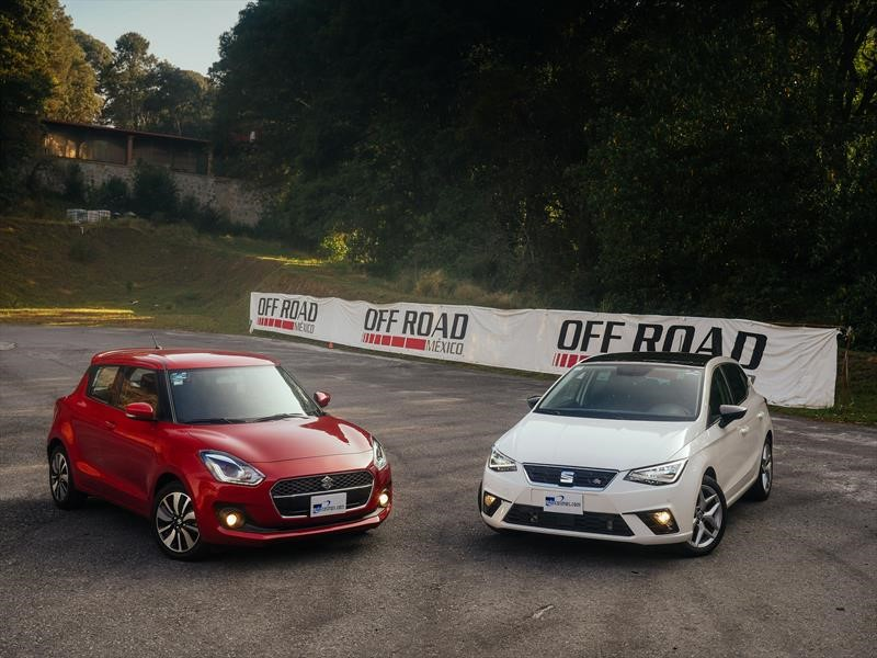 Frente a frente: Suzuki Swift 2018 VS SEAT Ibiza 2018