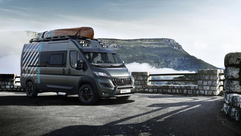 Peugeot Boxer 4x4 Concept, una nueva casa rodante