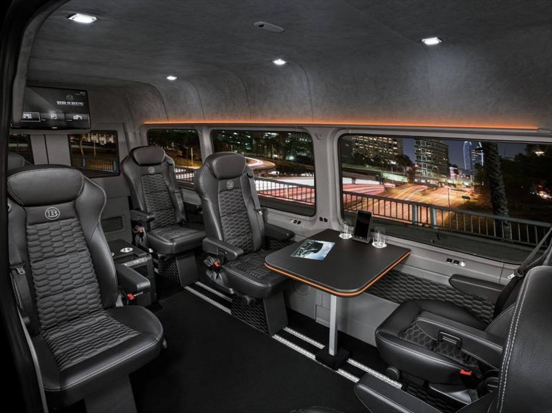 Brabus VIP Conference, un lujoso Mercedes-Benz Sprinter