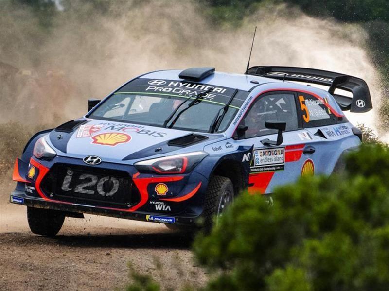 2018 WRC: Neuville consolida a Hyundai en Cerdeña