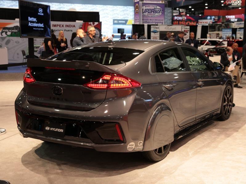 Hyundai HyperEconiq Ioniq by Bisimoto: notable eficiencia híbrida