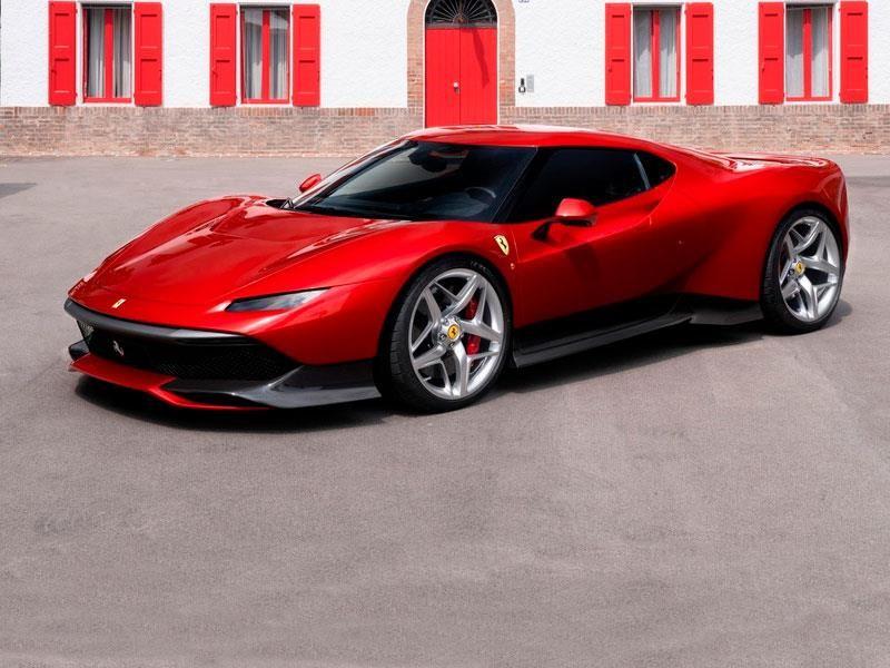 Ferrari SP38 es un súper auto único con más de 700 hp