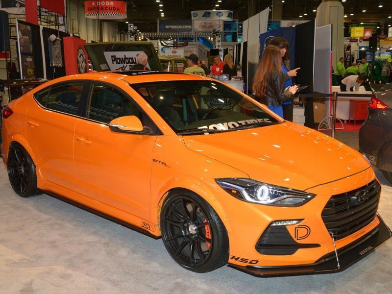 BTR Edition Elantra Sport Concept es la verdadera naranja mecánica