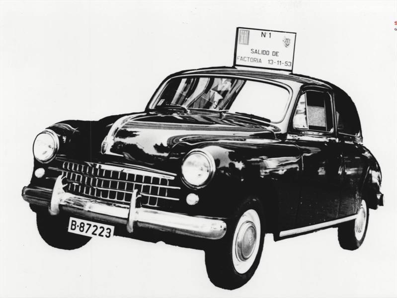 Se cumplen 65 años del primer SEAT
