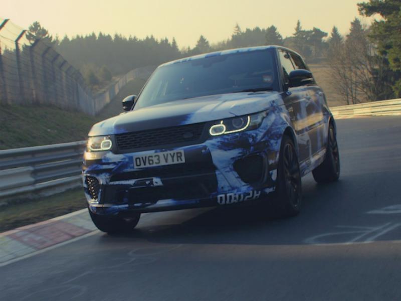 Range Rover Sport SVR, el SUV más rápido de Nürburgring
