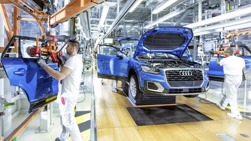 Audi despedirá a más de 9,000 trabajadores
