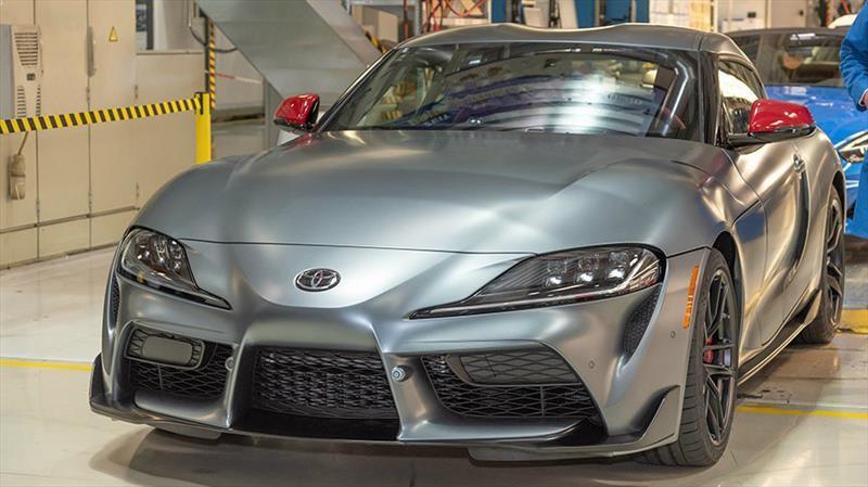 Toyota inicia la producción del nuevo Supra