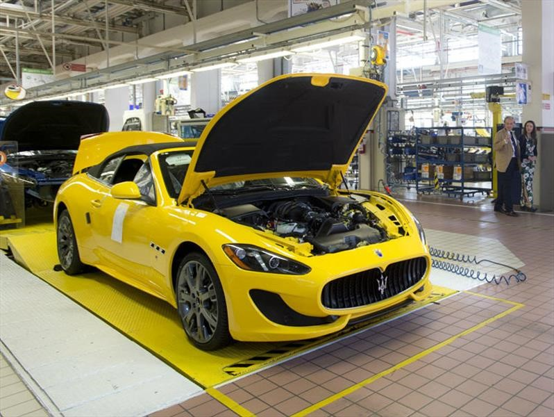 Maserati detiene su producción por las bajas ventas