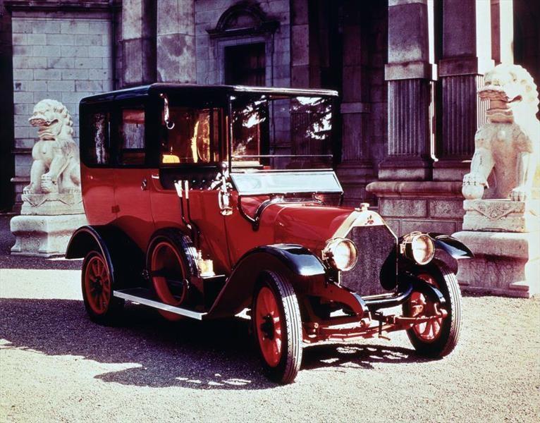 100 años del Mitsubishi Model-A