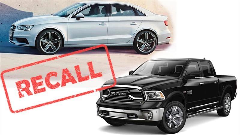 Recall para Audi A3 Sedan, RAM 1500 y 2500