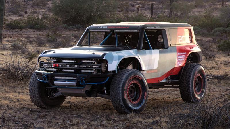 Ford Bronco R deja ver las formas del nuevo SUV
