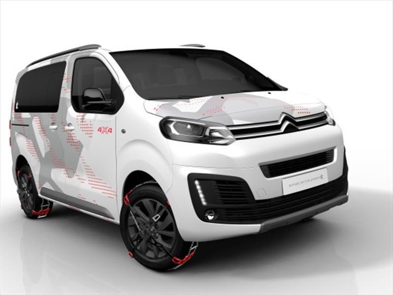 Citroën muestra la SpaceTourer 4x4 Ë Concept
