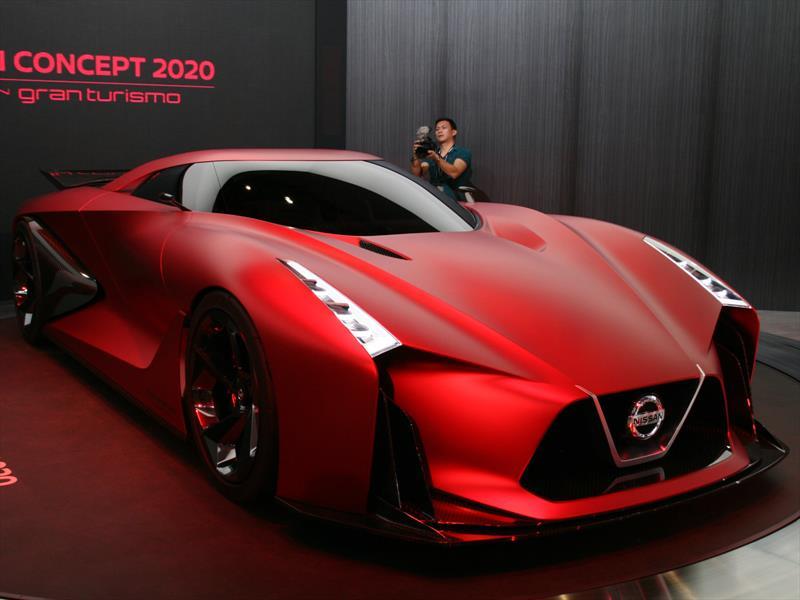 Nissan Vision Gran Turismo 2020, ahora en color rojo