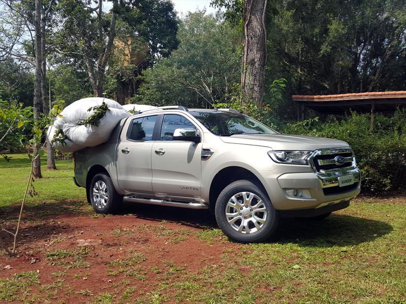 Ford Ranger 2017, primer contacto en Argentina ...