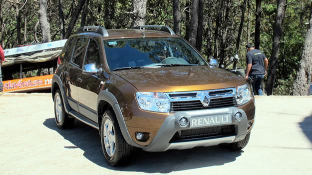 Manejamos en México el Renault Duster 2012