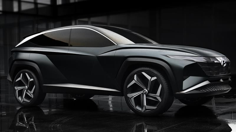 Hyundai Vision T Concept visualiza cómo será el nuevo Tucson