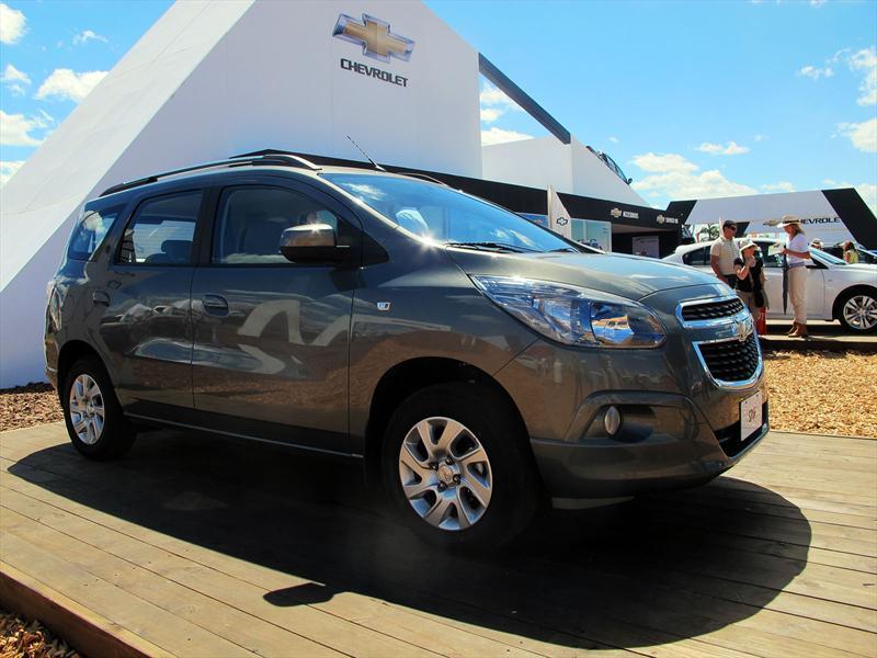 Chevrolet Anticipa El Spin Diesel En Expoagro Autocosmos